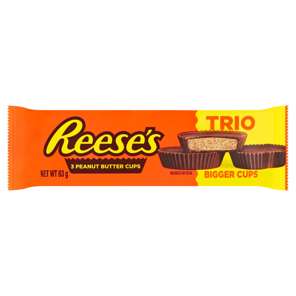 Reese's 3 Peanut Butter Cups Trio 63g