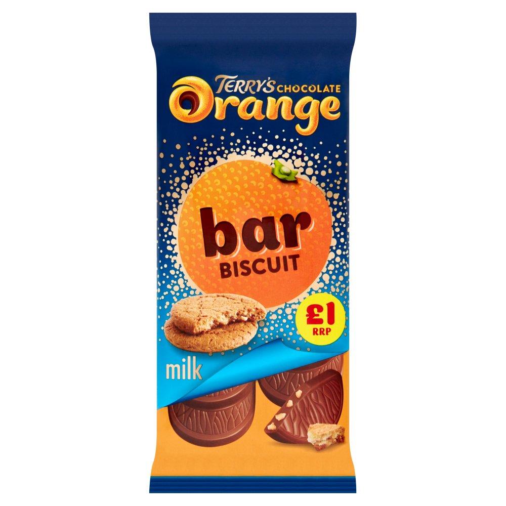 Terry's Milk Chocolate Orange Bar Biscuit 90g