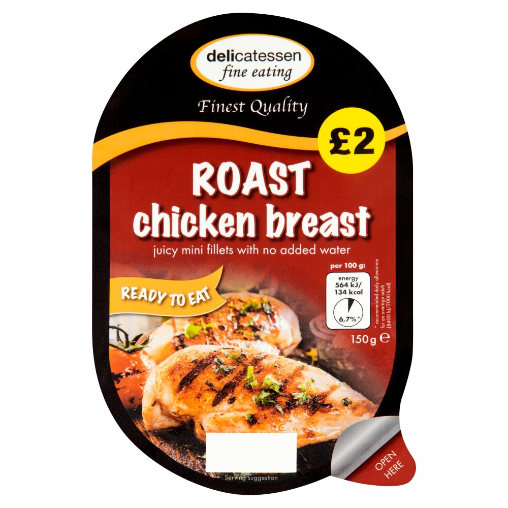 Delicatessan Fine Eatin Roast Chicken Fillet PM £2