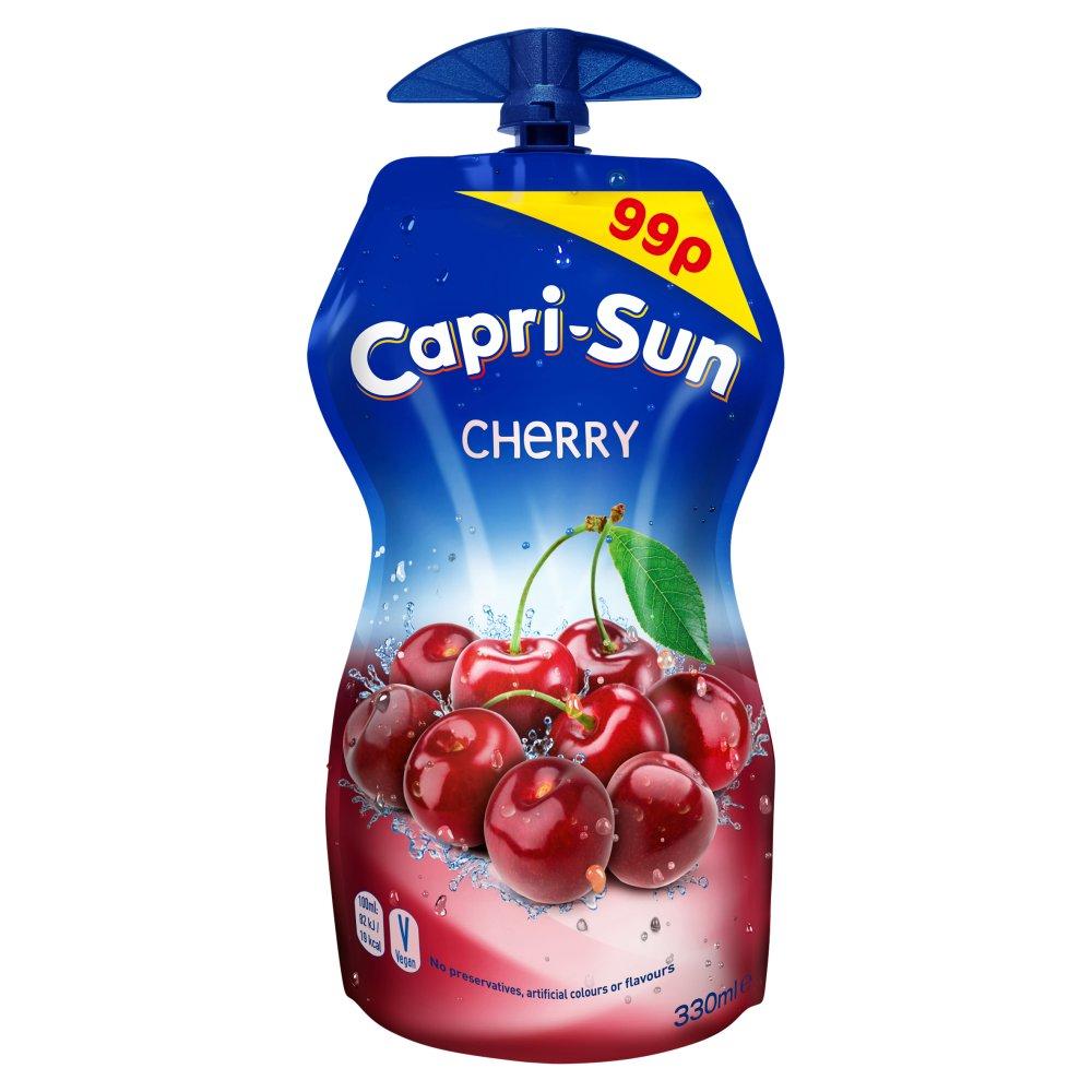 Capri-Sun Cherry 15 x 330ml PMP 99p