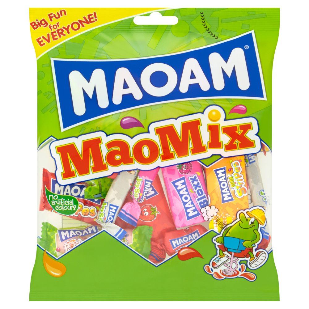 Haribo Maoam Stripe Pouch