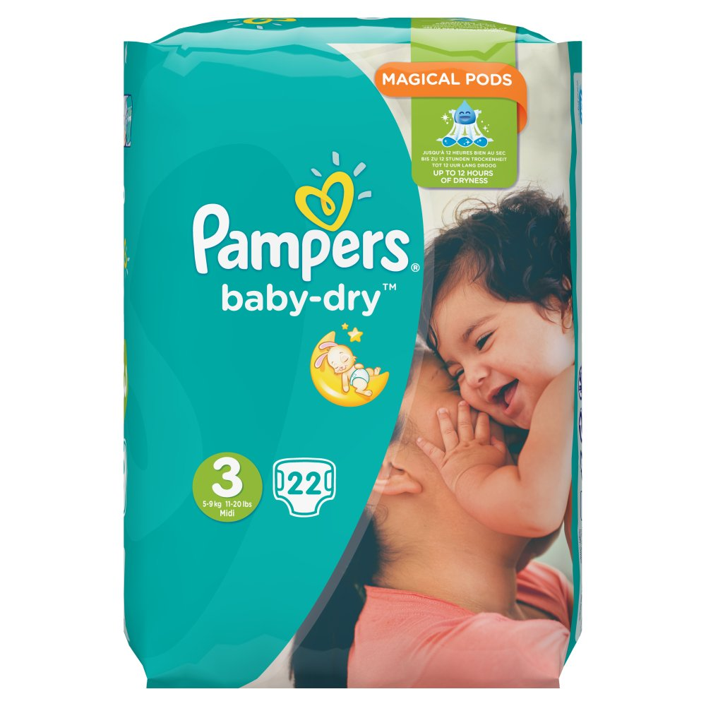 Pampers Baby Dry Small Midi Size3 PM 4.99
