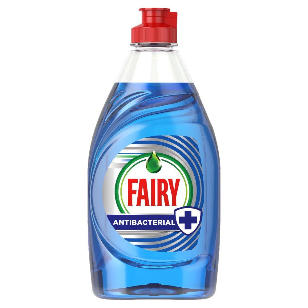 Fairy Antibacterial Washing Up Liquid Eucalyptus 383ML
