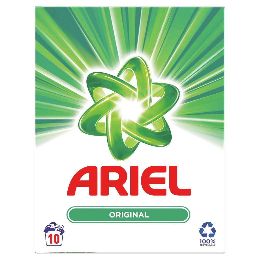 Ariel Powder Original 650KG 10 Washes