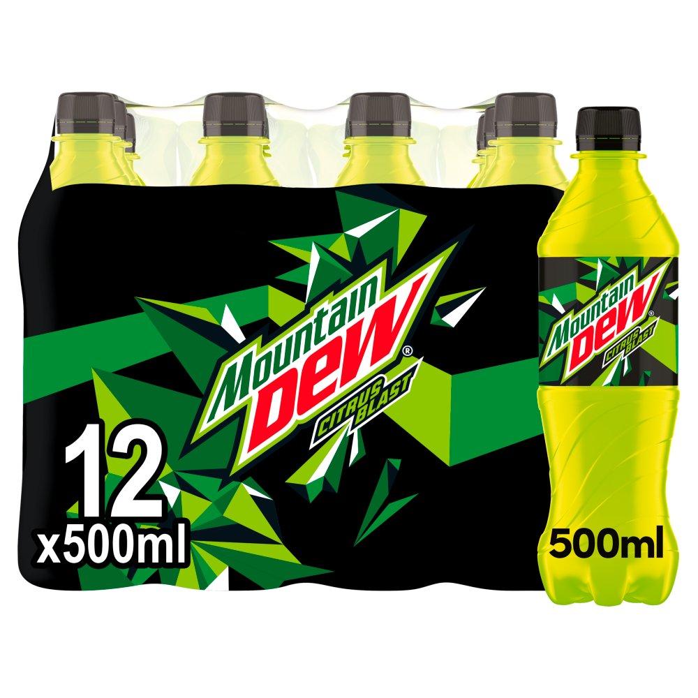 Mountain Dew Citrus Blast 12 x 500ml