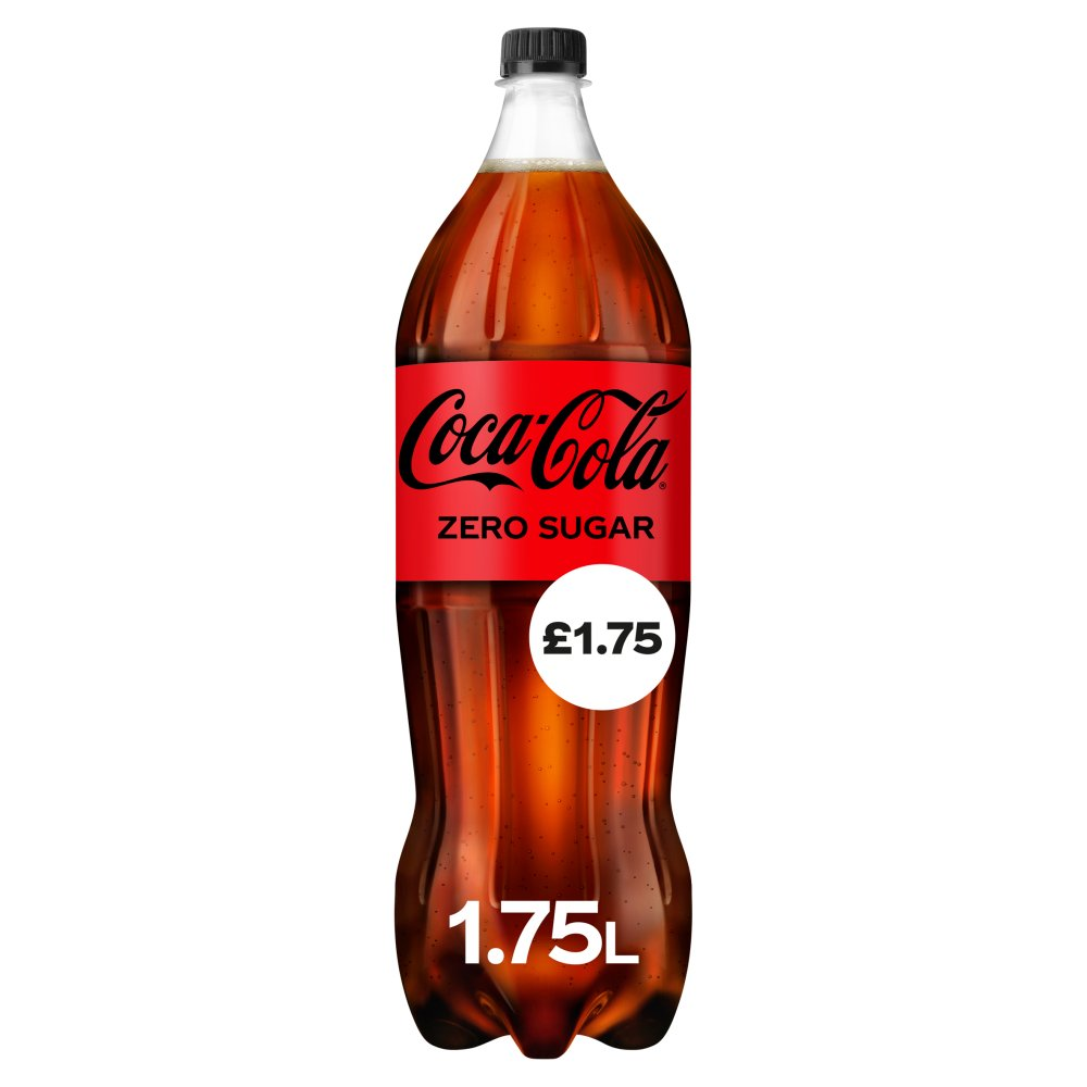 Coca-Cola Zero Sugar 1.75L PM £1.75