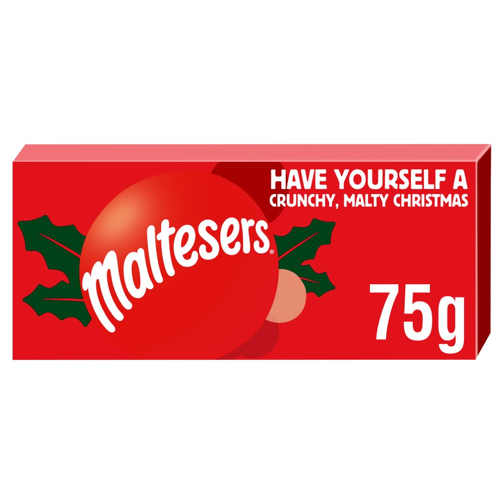 Maltesers Chocolate Christmas Gift Tube 75g
