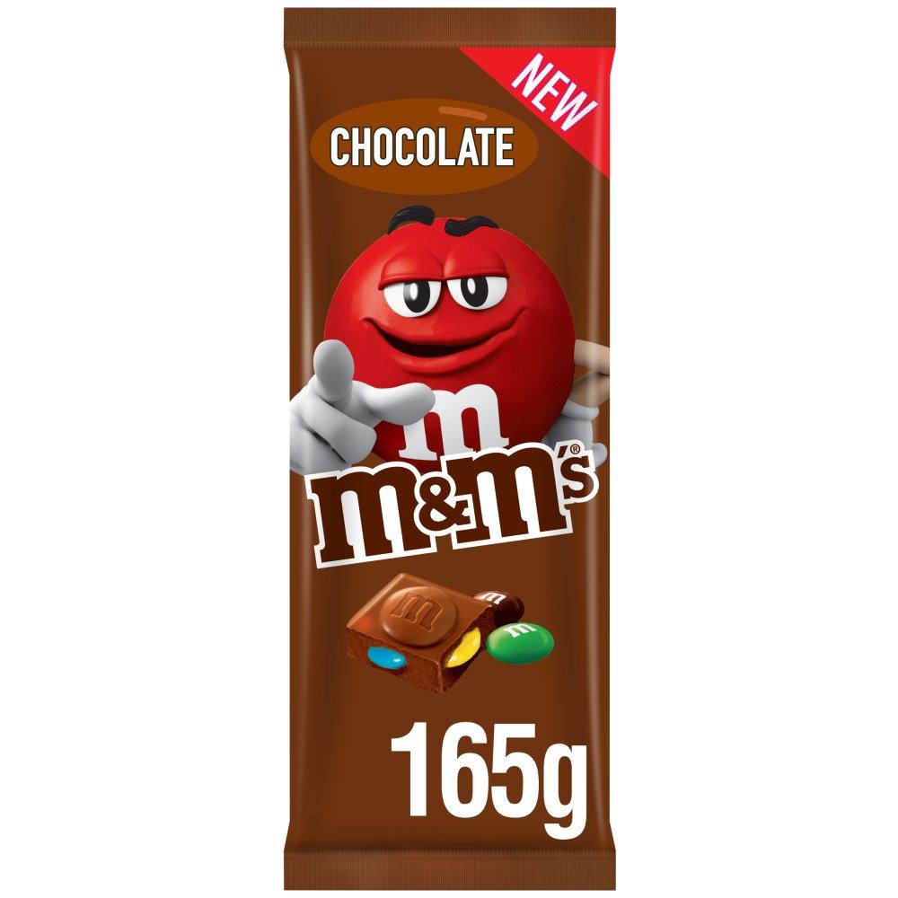 M&M's Chocolate Bar 165g