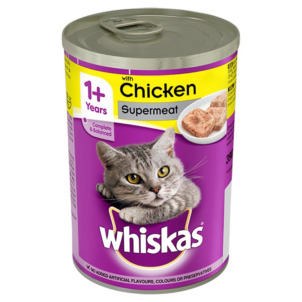 Whiskas Can Chicken Cij PM 75p