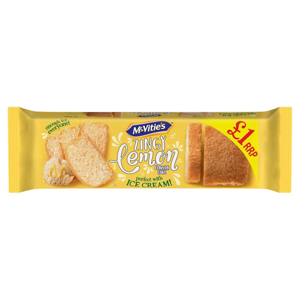 McVitie's Zingy Lemon Flavour Cake