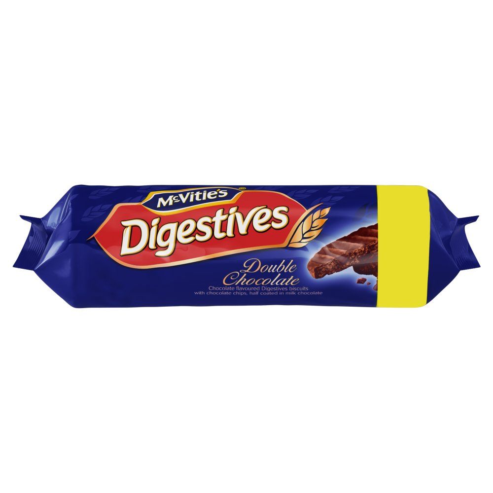 Mcvities Double Chocolate Digestives PM £1.50