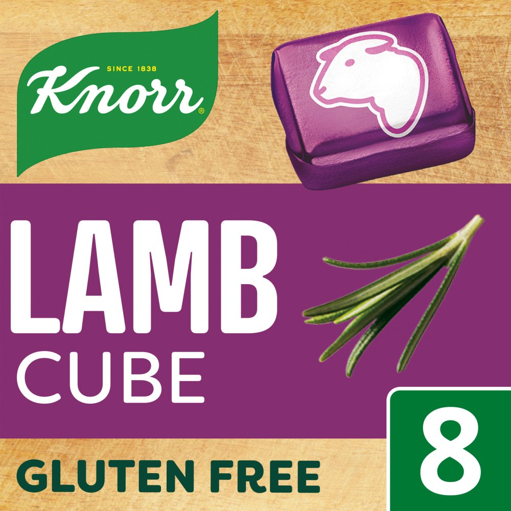 Knorr Lamb Stock cubes 8 x 10g
