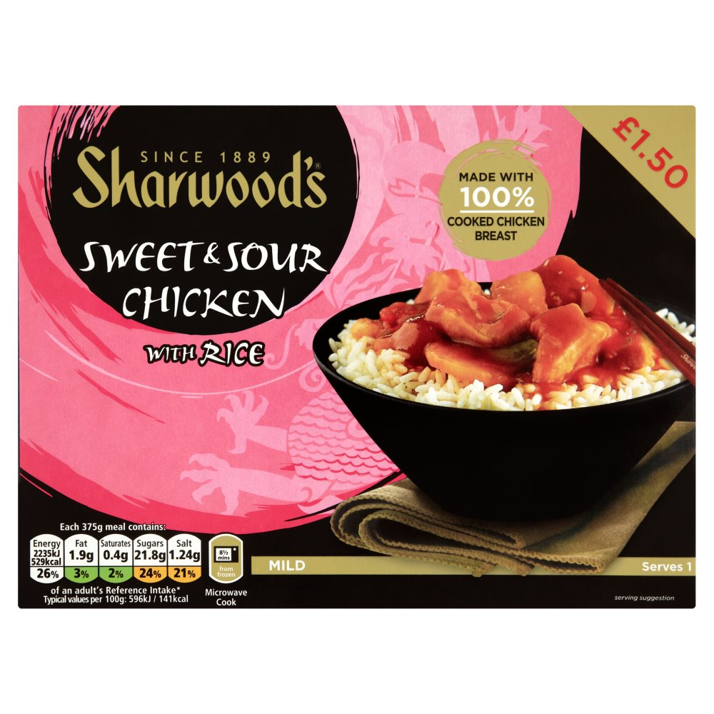 Sharwoods Sweet & Sour Chicken PM £1.50