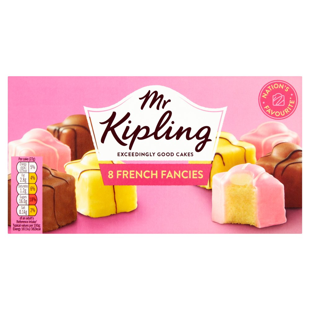 Mr Kiplings French Fancies
