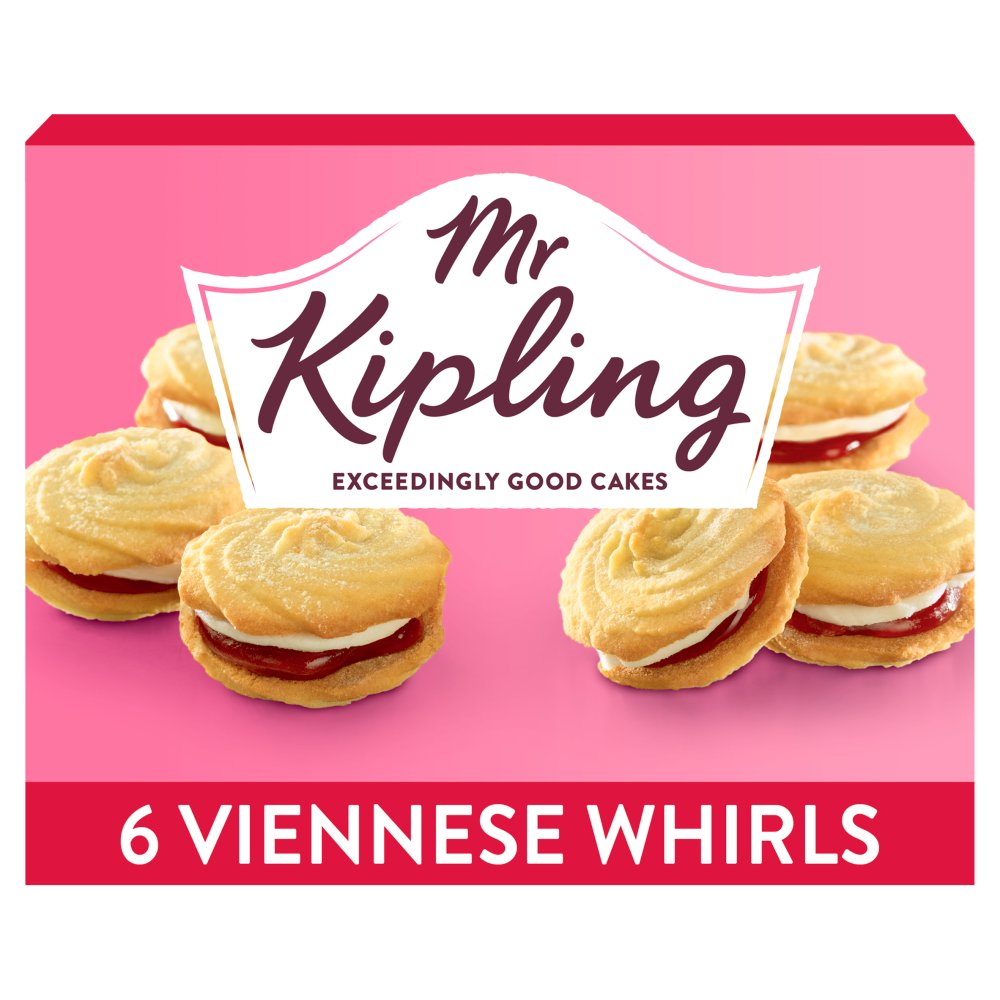 Mr Kiplings Viennese Whirls