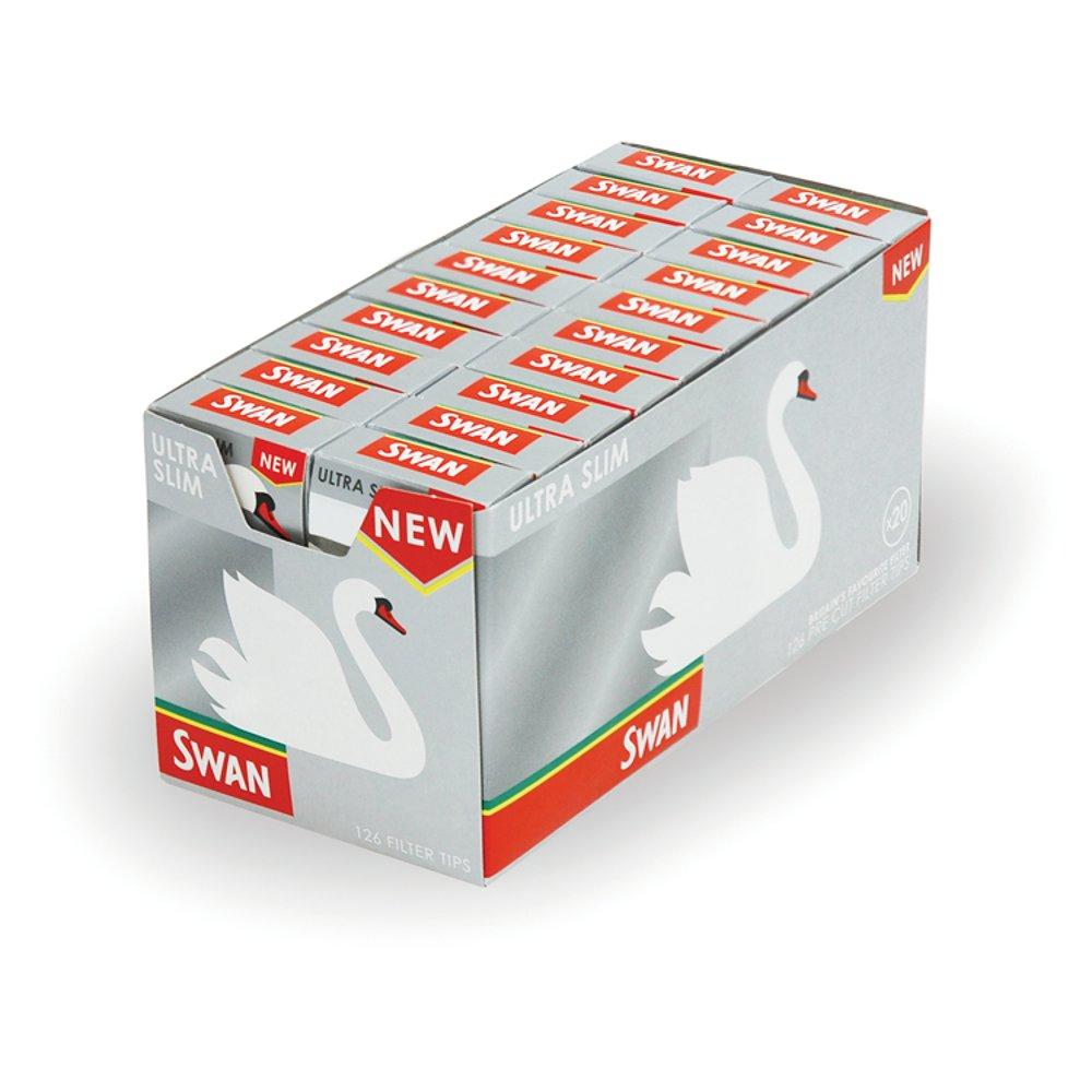 Swan Ultra Slim 20 Filter Tips Box