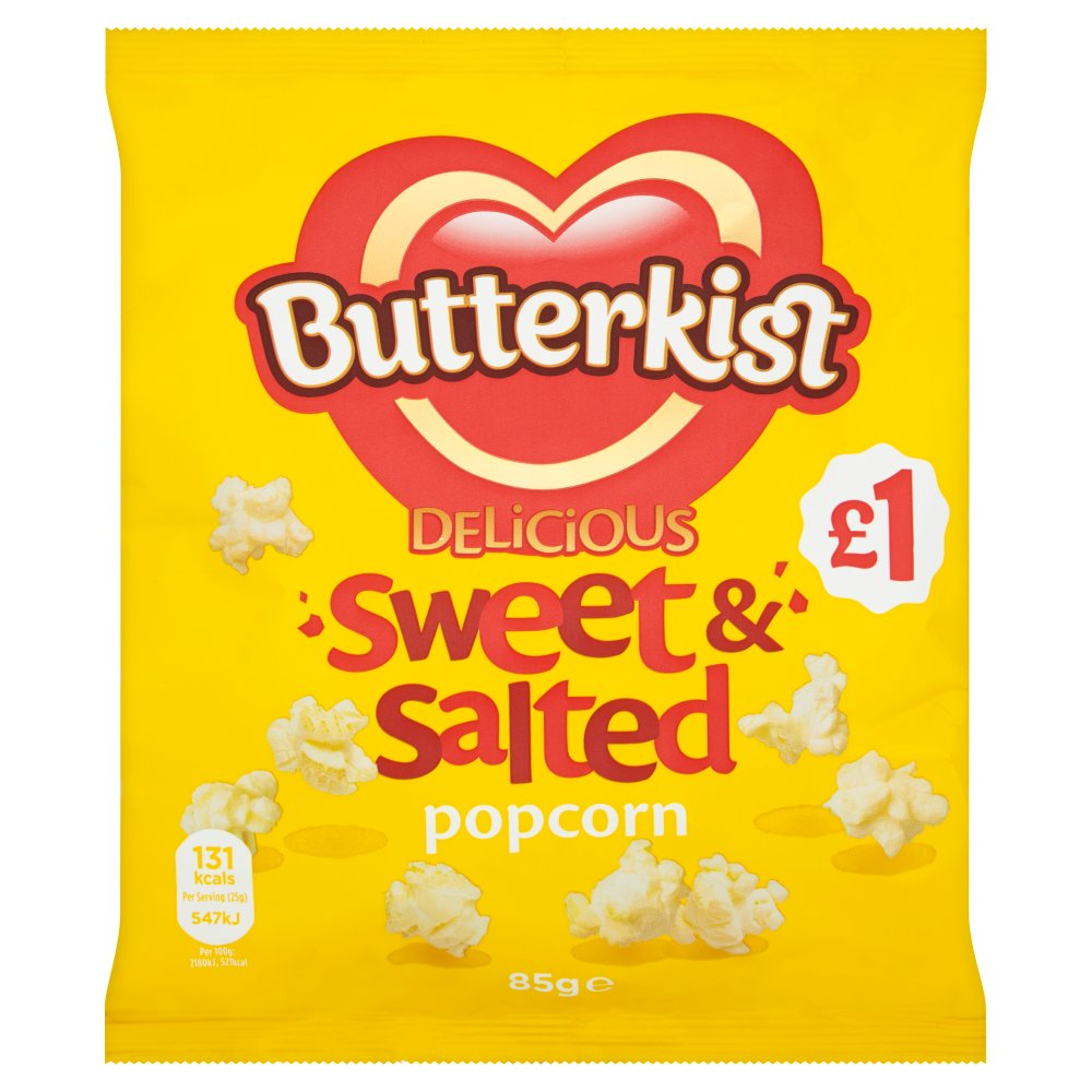 Butterkist Popcorn Sweet & Salted PM £1