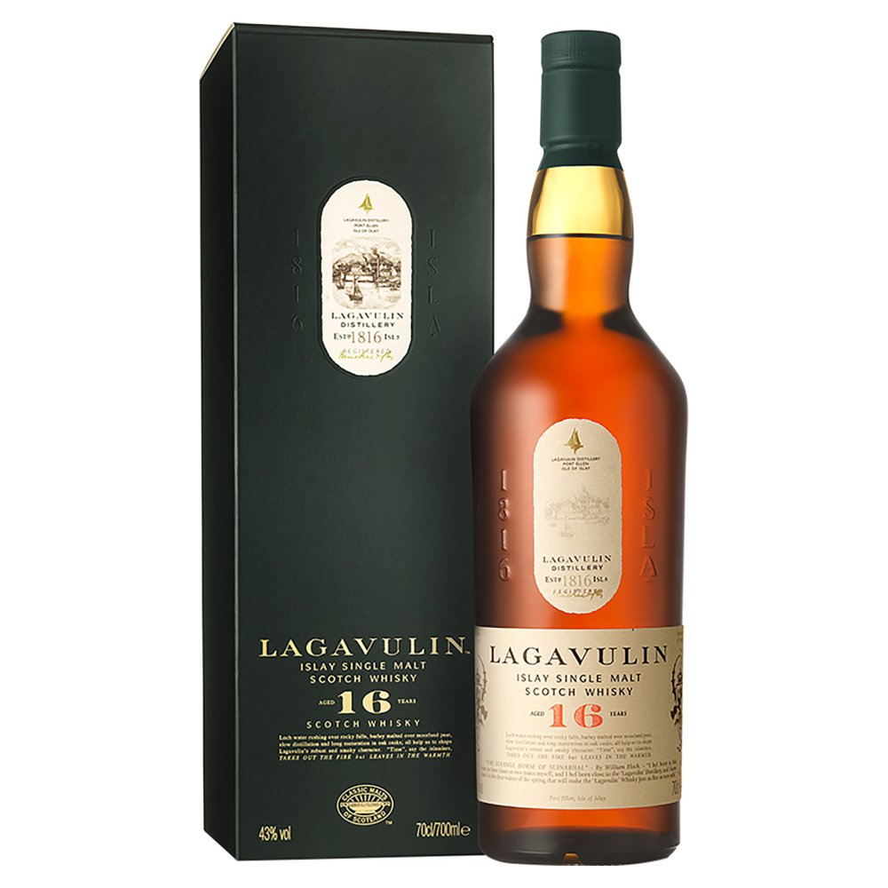 Lagavulin 16 Year Old Malt Whisky 70cl