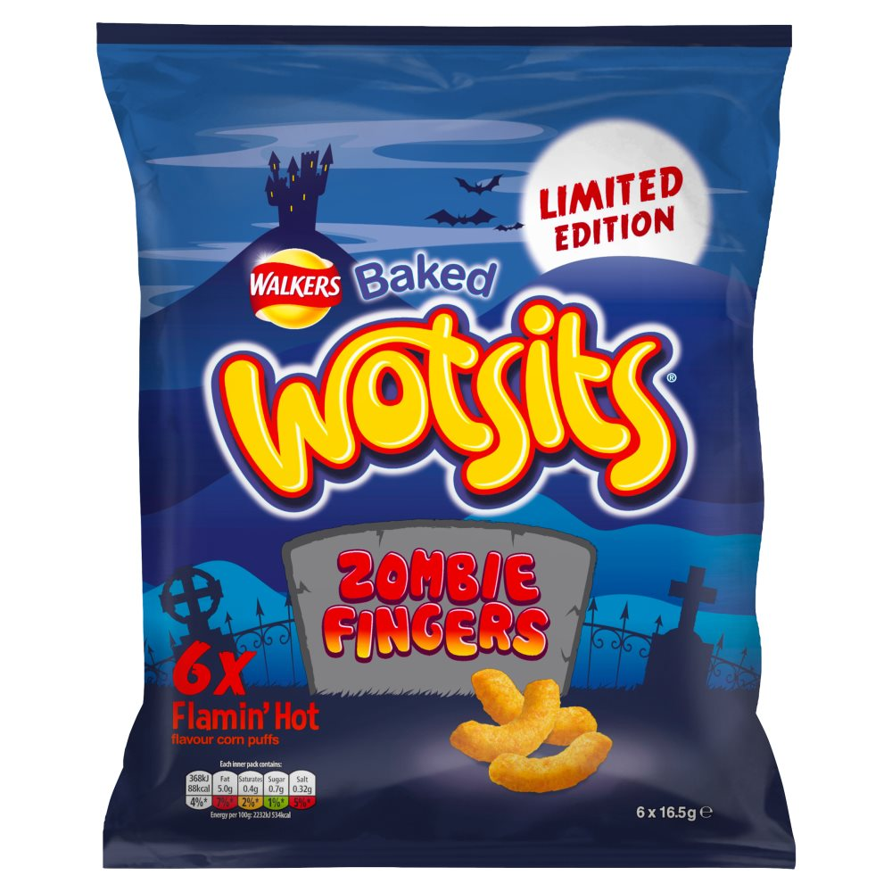 Wotsits Zombie Fingers Hot 6pack