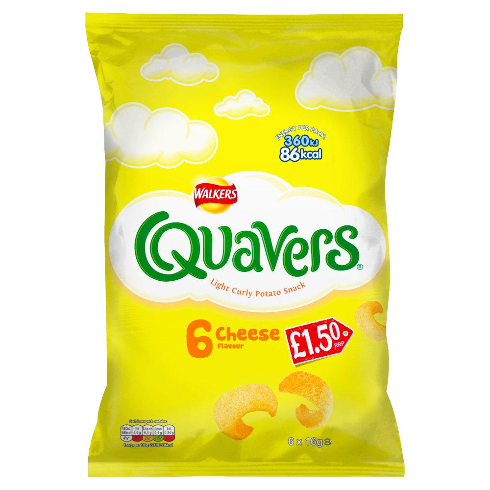 Walkers Quavers Cheese £1.50