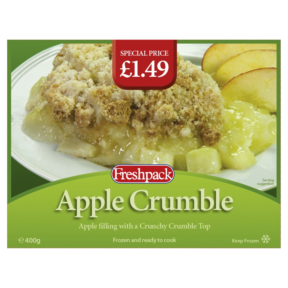Fresh Pack Apple Crumble PM £1.49