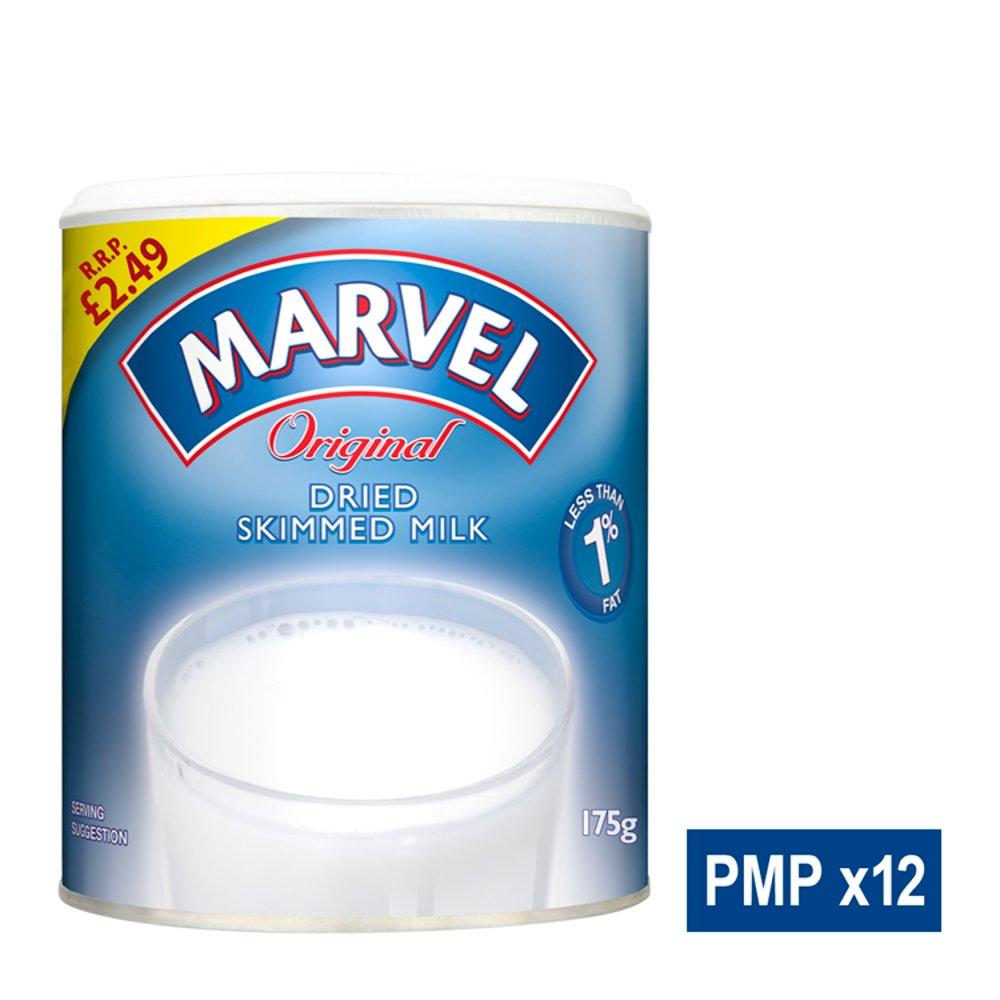 Marvel Original Dried Skimmed Milk 175g