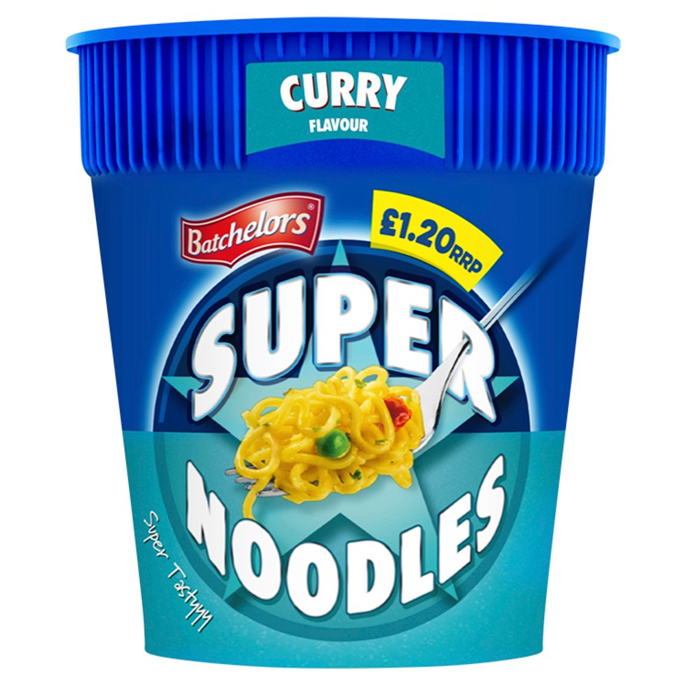 Batchelors Curry Flavour Super Noodles 75g