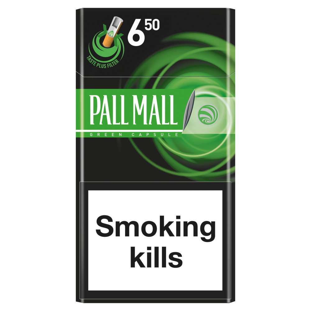 Pall Mall Superking Menthol Clickon £6.50