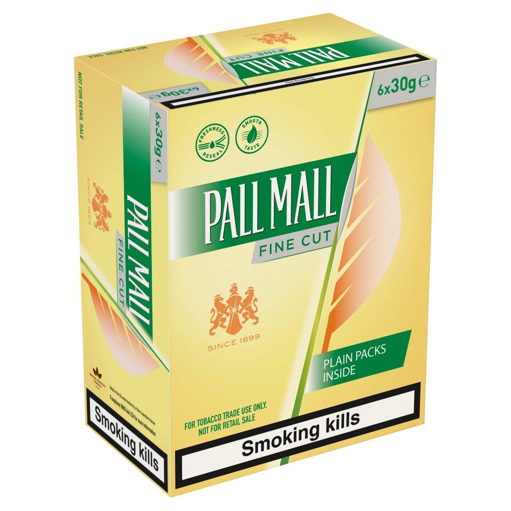Pall Mall Fine Cut 6 x 30g