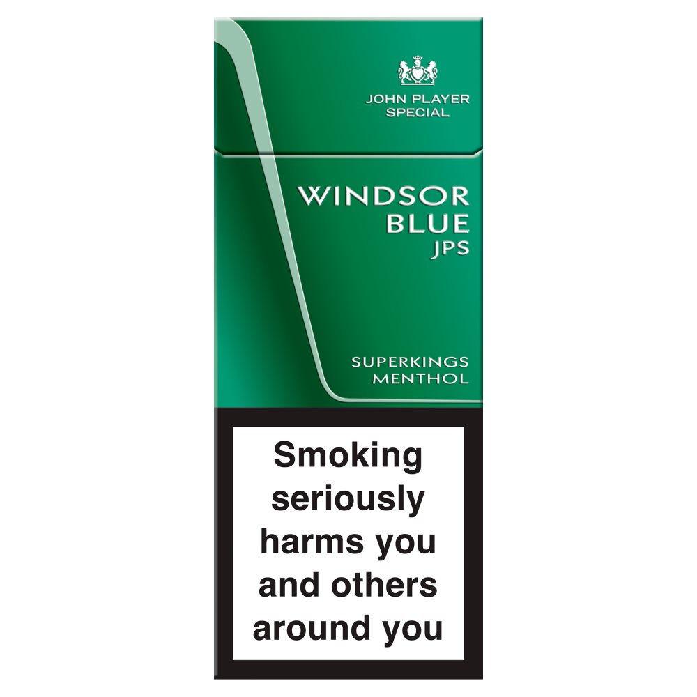 Windsor Blue Superking Menthol