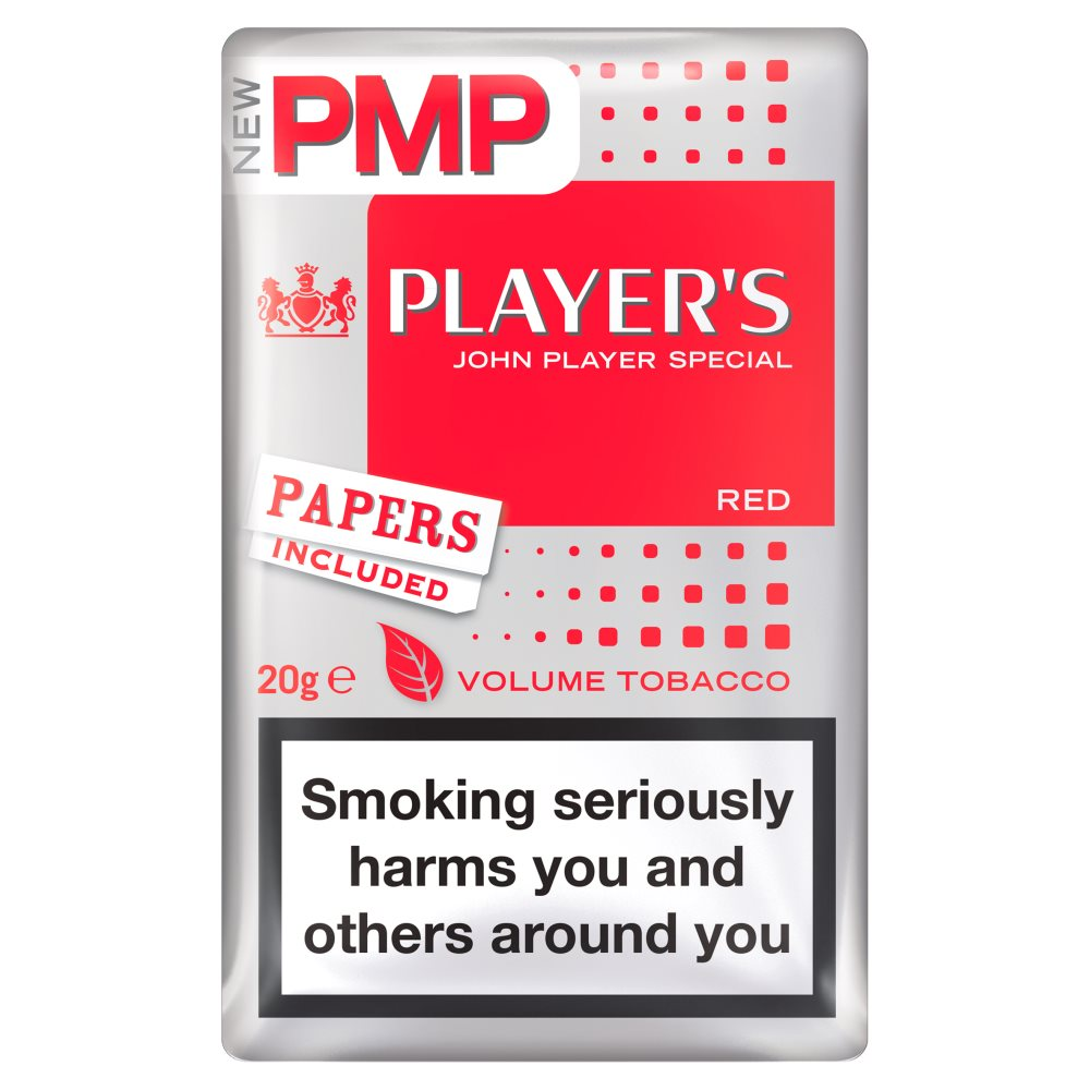 Players Red Volume Tobacco £6.52