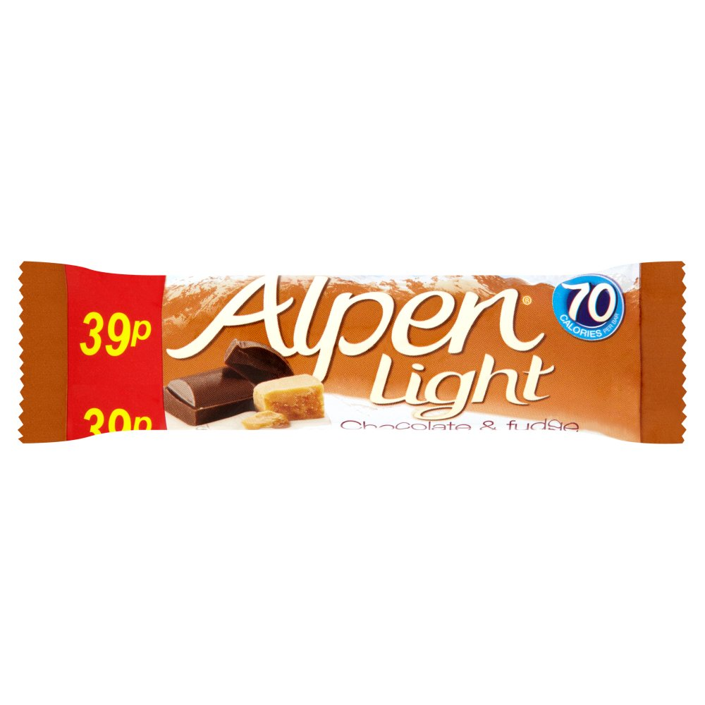 Alpen Light Chocolate & Fudge PM 39p