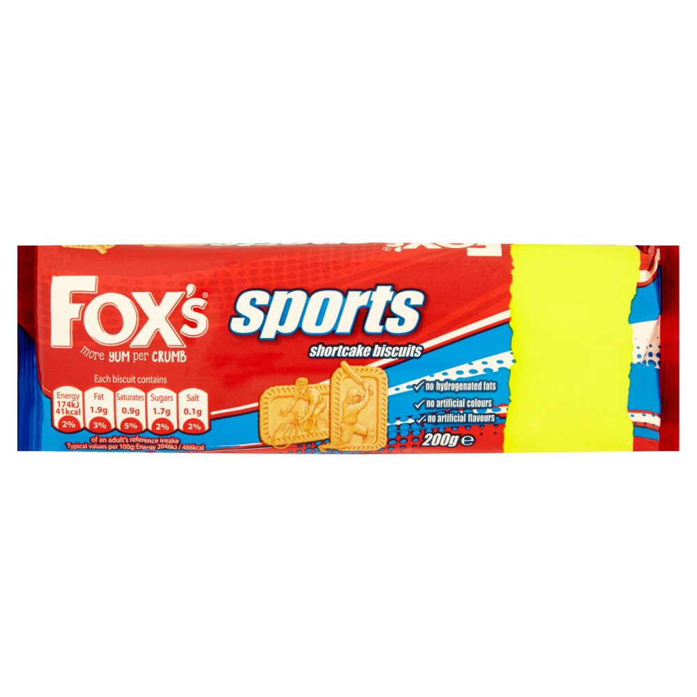 Fox Sports Biscuit PM 59p