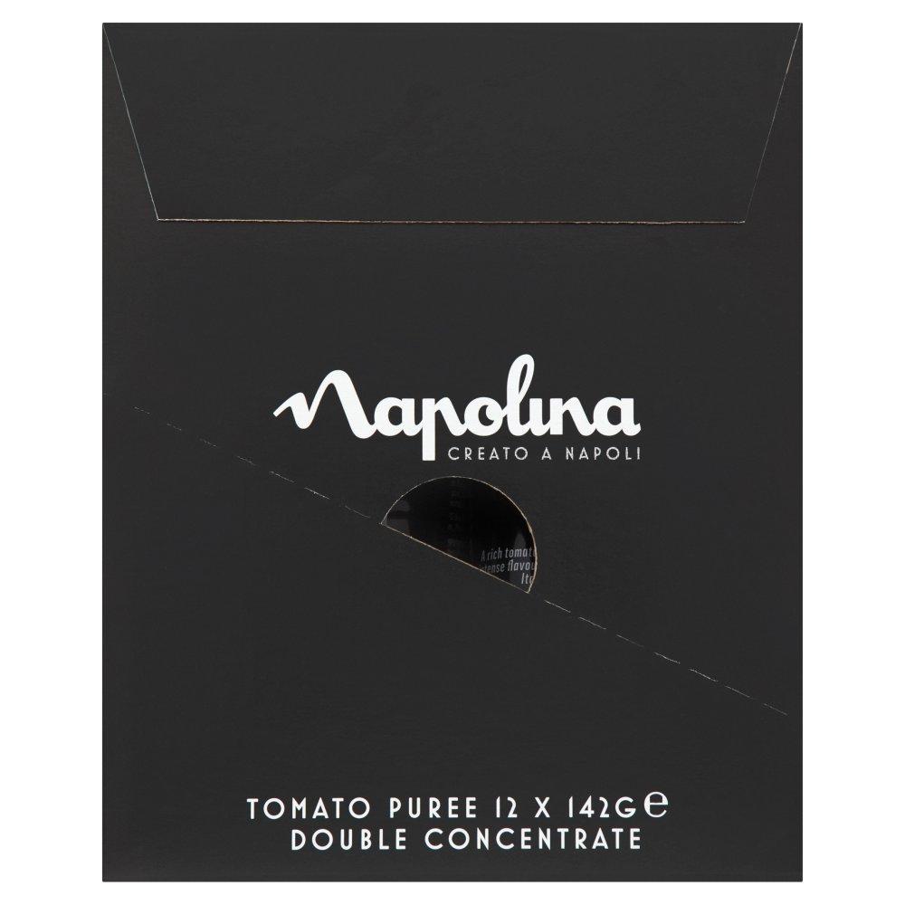 Napolina Tomato Puree Double Concentrate 12 x 142g