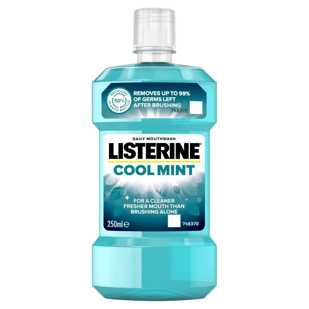 Listerine Essentials Cool Mint Mouthwash 250ml