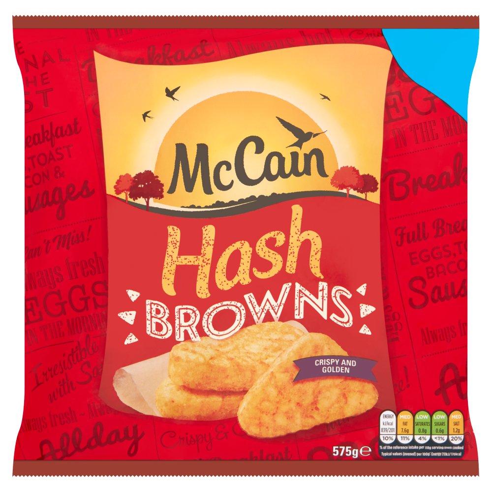 McCain Hash Browns 575g