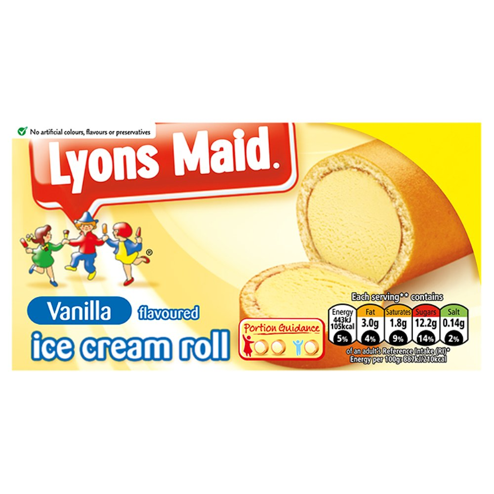 Lyons Maid Ic Roll £1.50
