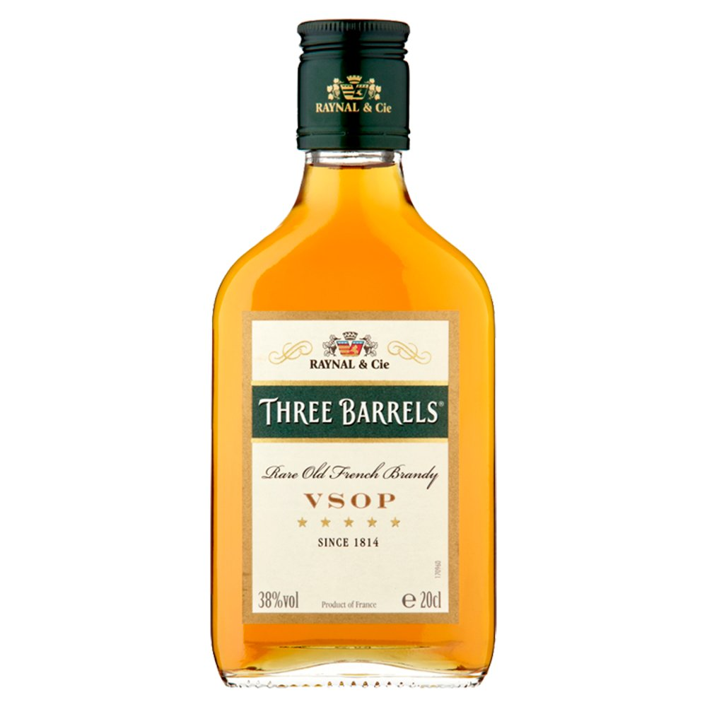 Three Barrels Brandy 38percent
