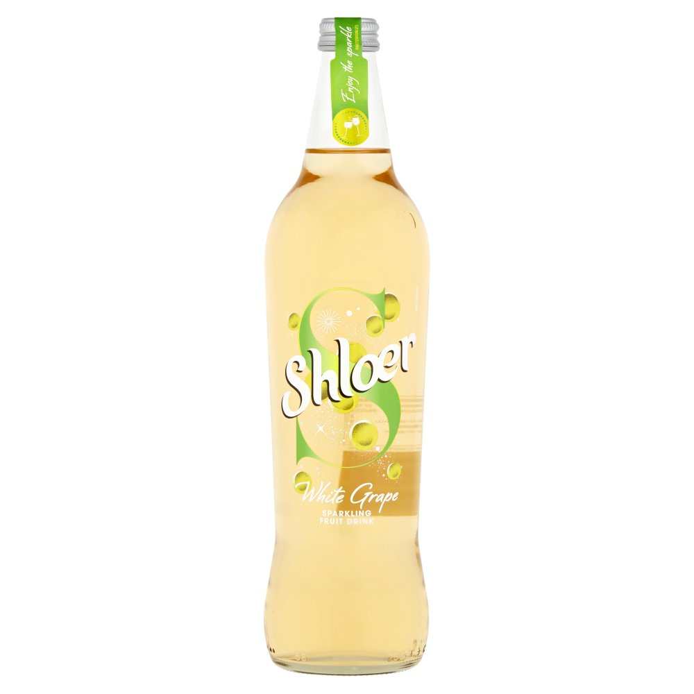 Shloer White Grape Sparkling Fruit Drink 750ml
