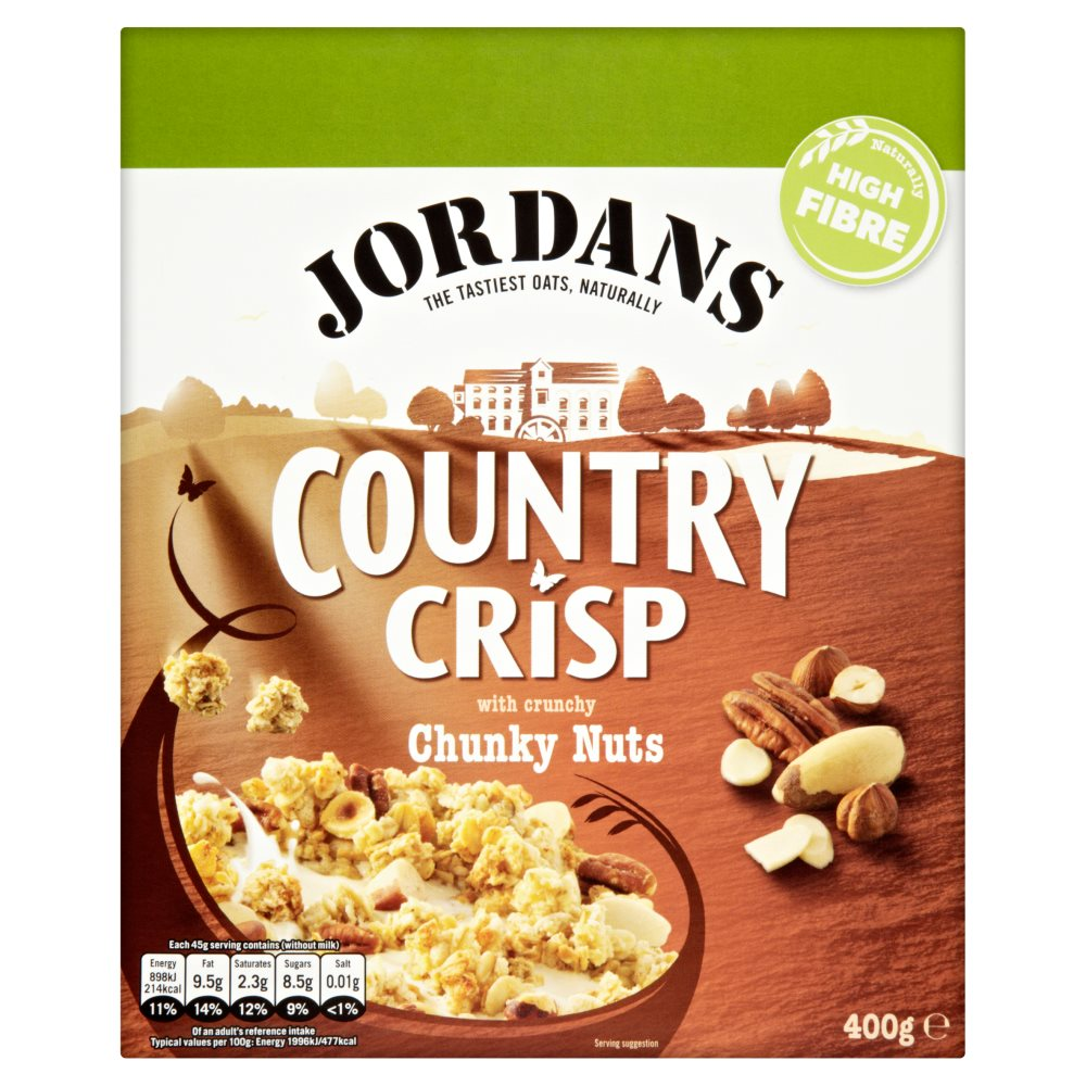 Jordans Country Crisp Chunky Nut PM £2.39