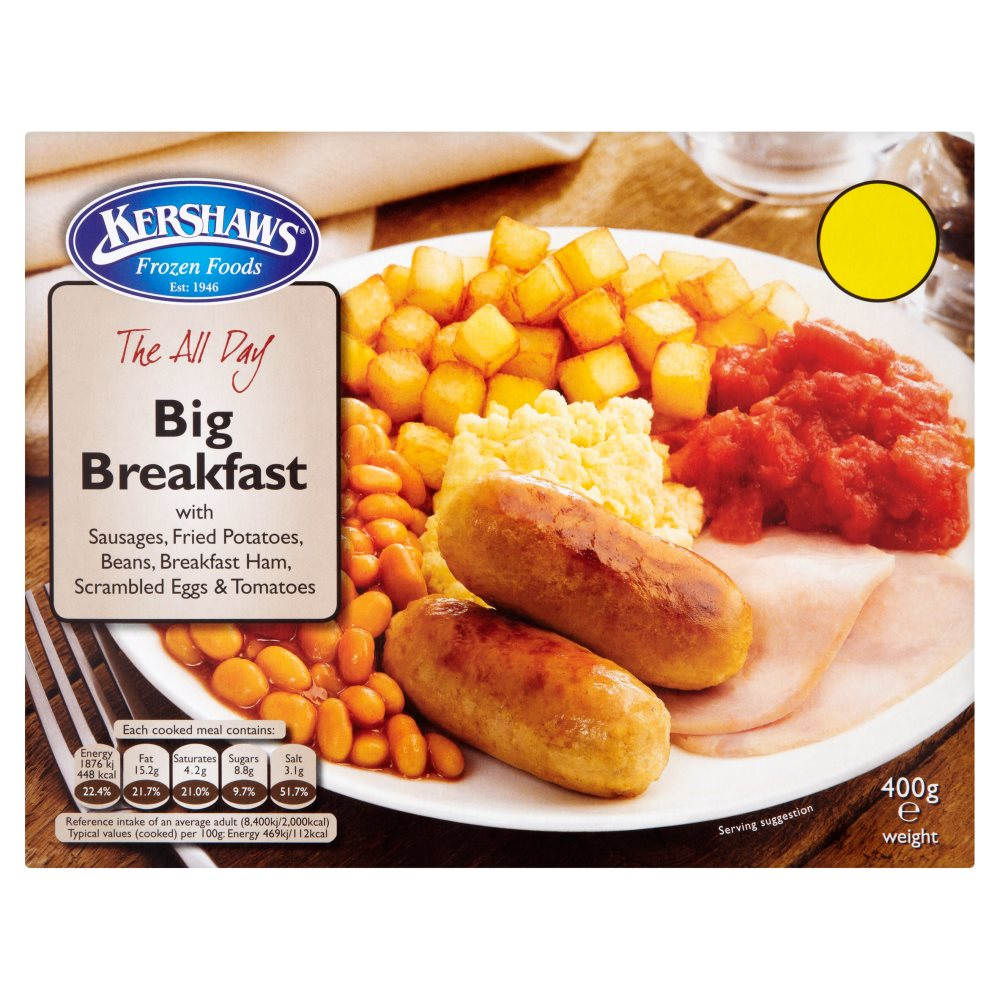 Kershaws All Day Breakfast PMP £1.69