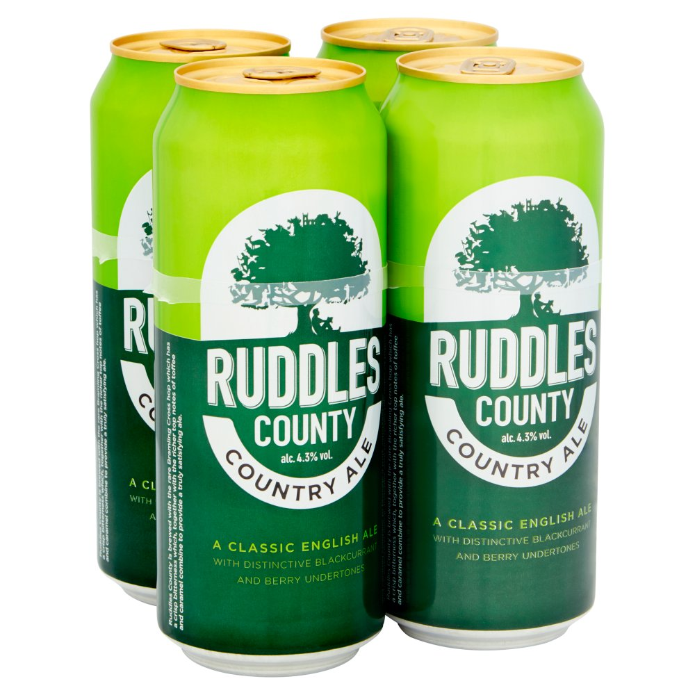 Ruddles County Can 4pack 4.3percent