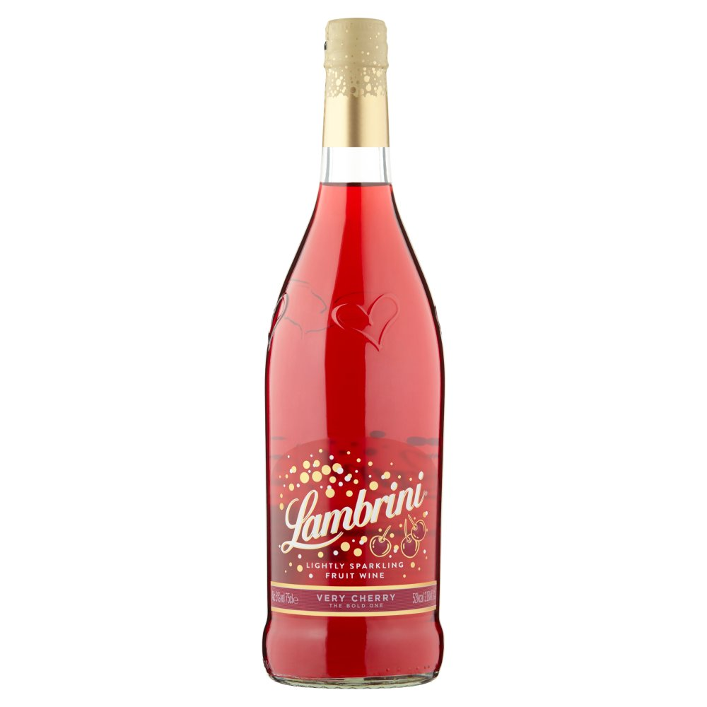 Lambrini Lightly Sparkling Fruit Wine Very Cherry 75cl