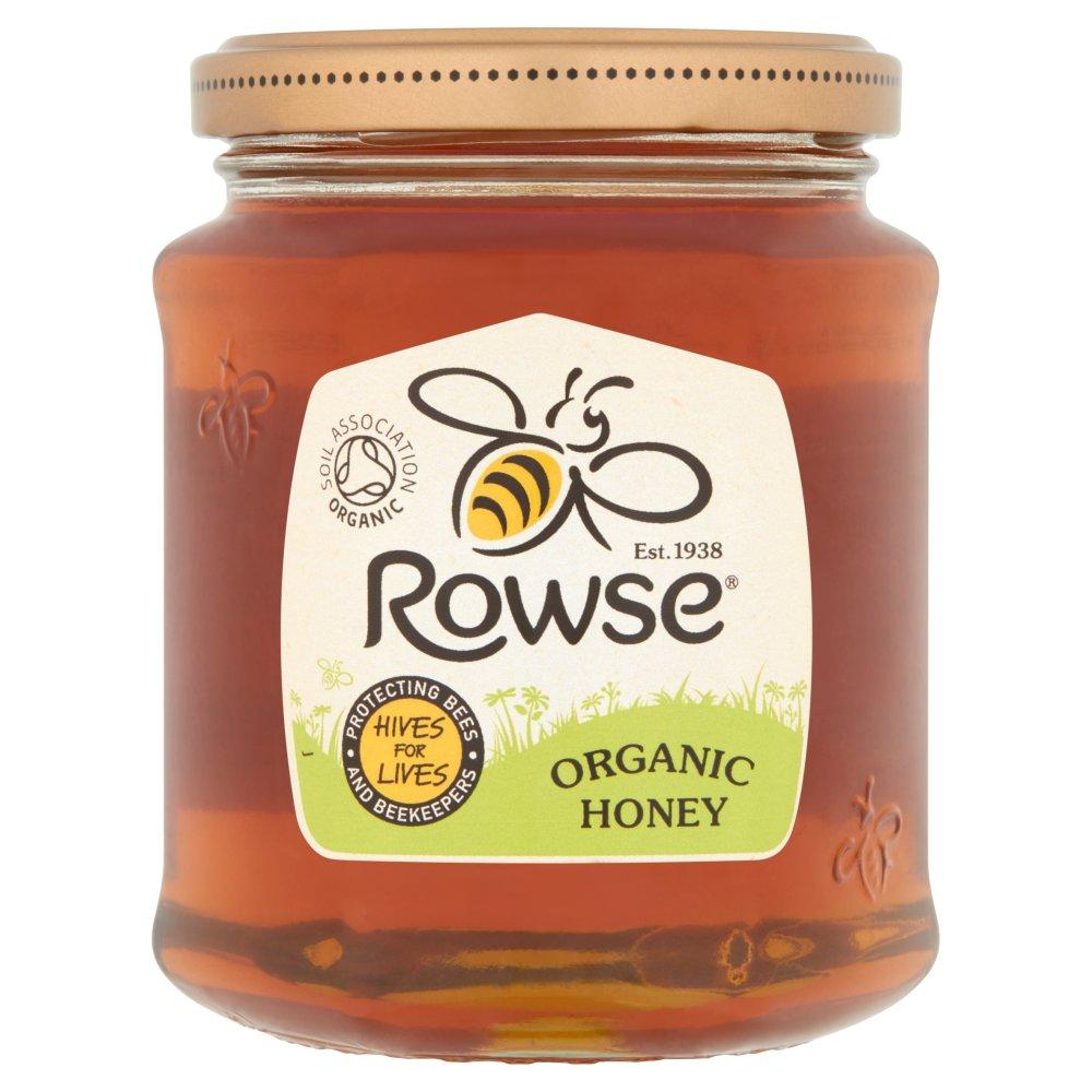 Rowse Organic Honey 340g