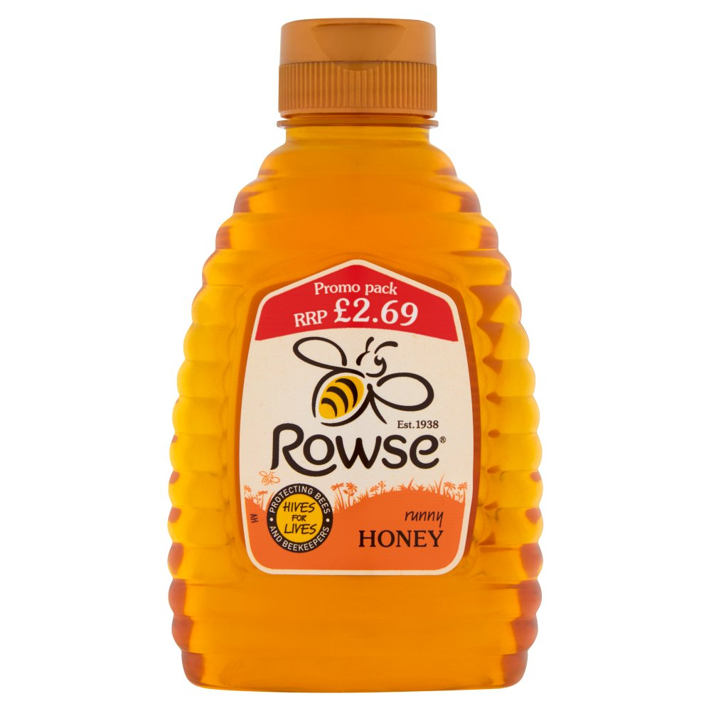 Rowse Squeezy Honey PM £2.69