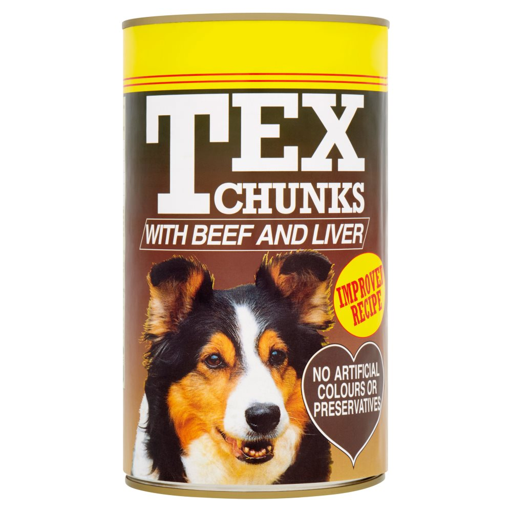 Tex Beef & Liver PM £1.29