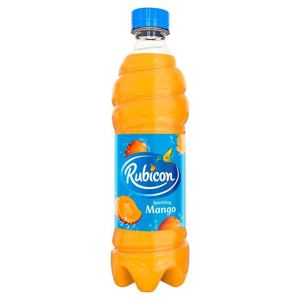 Rubicon Sparkling Mango Juice Drink 500ml Bottles