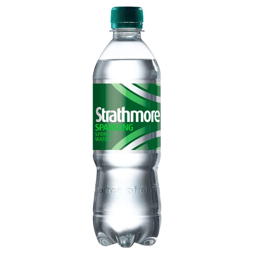 Strathmore Sparkling Spring Water 500ml Bottle
