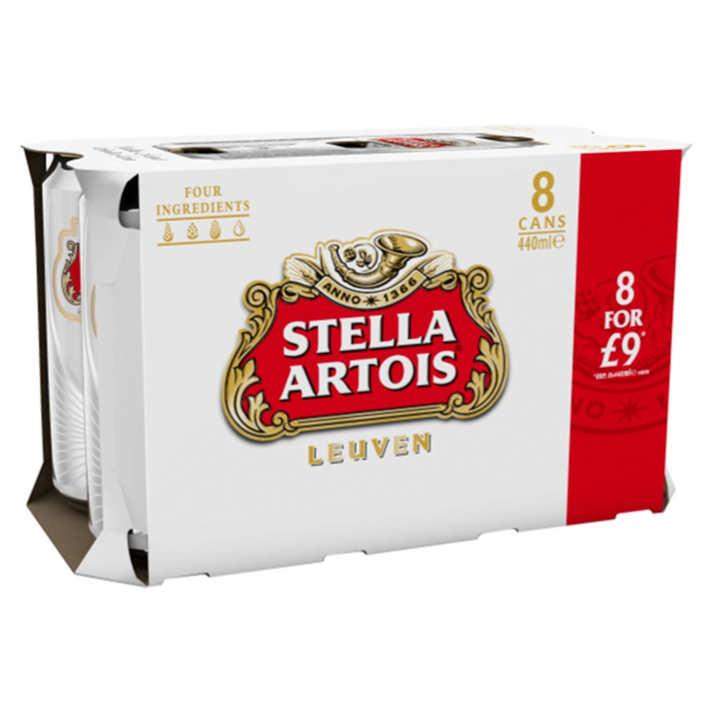 Stella 4.8percent PM 8 For £9
