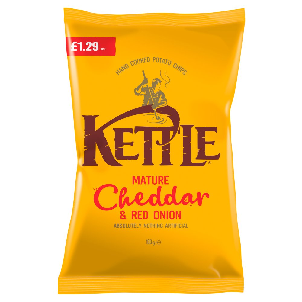 Kettle Mature Cheddar & Onion PM £1.29